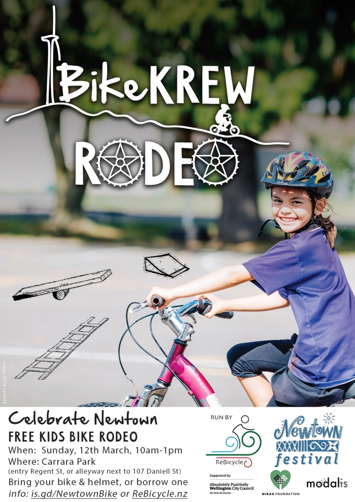 Rescheduled: Celebrate Newtown – Bike KREW Rodeo