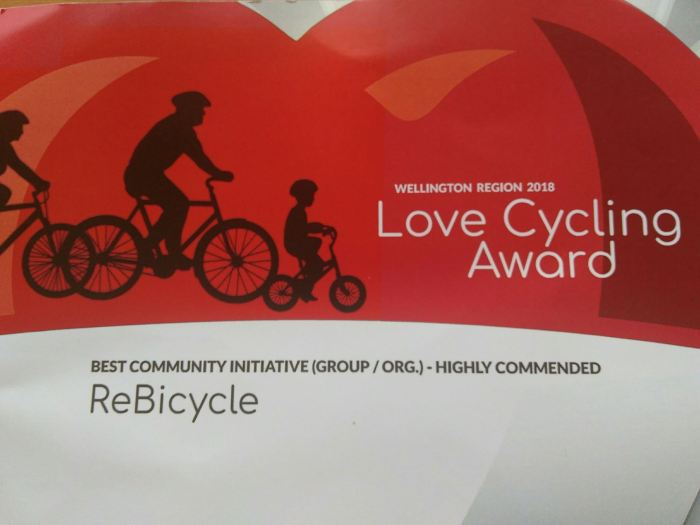 Lovecycling certificate